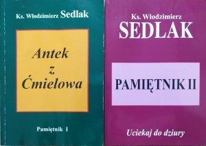 ks. Włodzimierz Sedlak • Pamiętnik I-II. Antek z Ćmielowa. Uciekaj do dziury