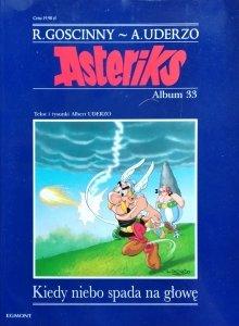 Gościnny, Uderzo • Asterix. Kiedy niebo spada na głowę - album 33