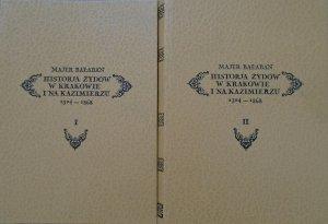 Majer Bałaban • Historia Żydów w Krakowie i na Kazimierzu 1304-1868