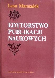 Leon Marszałek • Edytorstwo publikacji naukowych