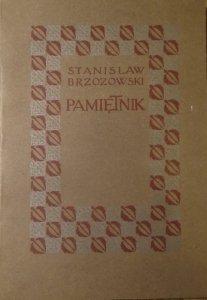 Stanisław Brzozowski • Pamiętnik