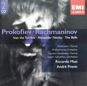 Andre Previn, Riccardo Muti • Prokofiev - Rachmaninov. Ivan the Terrible. Alexander Navsky. The Bells • 2CD