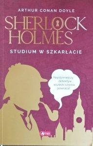 Arthur Conan Doyle • Studium w szkarłacie