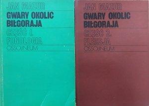 Jan Mazur • Gwary okolic Biłgoraja. Fonologia. Fleksja [komplet]