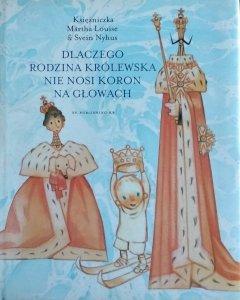 Svein Nyhus, Martha Louise • Dlaczego rodzina królewska nie nosi koron na głowach