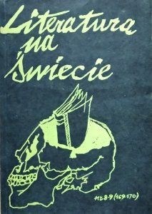 Literatura na świecie 8-9/1985 • Śmierć, William Butler Yeats, Allen Ginsberg, Samuel Beckett