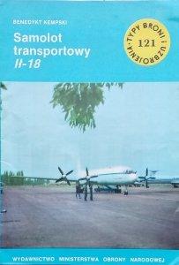 Benedykt Kempski • Samolot transportowy Ił 18