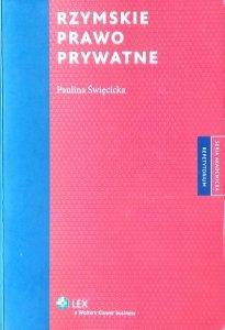 Paulina Święcicka-Wystrychowska • Rzymskie prawo prywatne