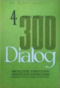 Dialog 4/1981 • [Thomas Bernhard, TS Eliot, Jean Genet]