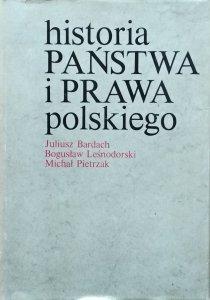 Juliusz Bardach, Bogusław Leśnodorski, Michał Pietrzak • Historia państwa i prawa polskiego