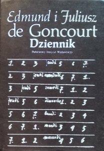 Edmond de Goncourt, Jules de Goncourt • Dziennik
