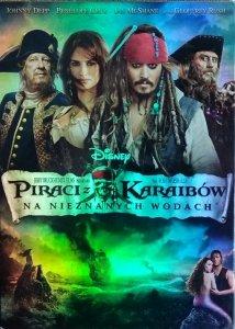 Rob Marshall • Piraci z Karaibów: Na nieznanych wodach • DVD