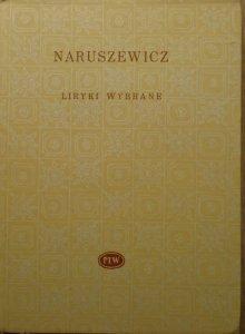 Adam Naruszewicz • Liryki wybrane [Biblioteka Poetów]