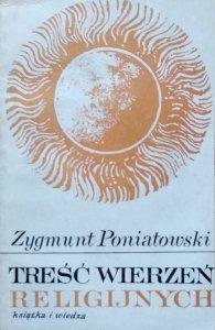 Zygmunt Poniatowski • Treść wierzeń religijnych