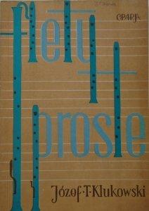Józef T. Klukowski • Flety proste. Wskazówki metodyczne do nauki gry i prowadzenia zespołów