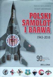 Tadeusz Królikiewicz • Polski samolot i barwa 1943-2016