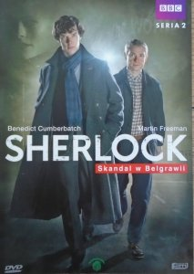 Benedict Cumberbatch. BBC • Sherlock. Skandal w Belgrawii sezon 2/1 • DVD