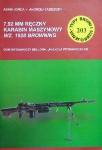 Adam Jońca, Andrzej Zasieczny • 7,92 mm ręczny karabin maszynowy wz. 1928 Browning [Typy Broni i Uzbrojenia 203]