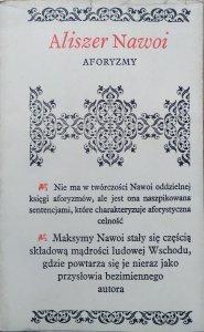 Aliszer Nawoi • Aforyzmy