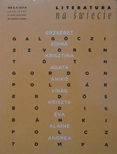 Literatura na świecie 3-4/2014 • Literatura węgierska
