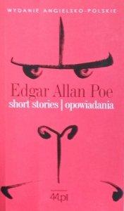 Edgar Allan Poe • Short stories. Opowiadania