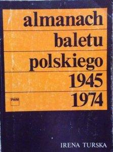 Irena Turska • Almanach baletu polskiego 1945-1974