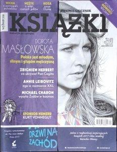 Książki • Magazyn do czytania nr 29 [Dorota Masłowska, Zbigniew Herbert, Kurt Vonnegut]