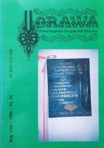 Orawa. Towarzystwo Przyjaciół Orawy nr 34/1996