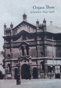 Ozjasz Thon • Kazania 1895-1906