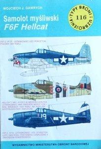 Wojciech Gawrych • Samolot myśliwski F6F Hellcat