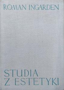 Roman Ingarden • Studia z estetyki tom 1.