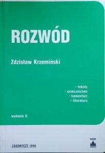 Zdzisław Krzemiński • Rozwód