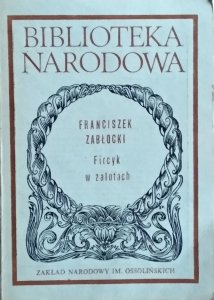 Franciszek Zabłocki • Fircyk w zalotach