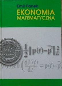 Emil Panek • Ekonomia matematyczna