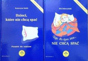 Wit Dobrzyński, Katarzyna Sułek • Bajki dla dzieci, która nie chcą spać. Dzieci, które nie chcą spać - poradnik dla rodziców