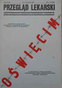 Przegląd Lekarski tom XXXIX 1-3/1982 • Oświęcim