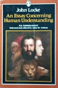 John Locke • An Essay Concerning Human Understanding