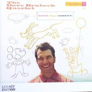 The Dave Brubeck Quartet • Dave Digs Disney • 2CD