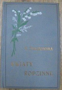 Narcyza Żmichowska • Kwiaty rodzinne. Wybór poezyi polskiej [1912] [oprawa Jan Franciszek Puget]