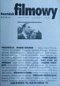Kwartalnik filmowy 14/1996 • Bergman