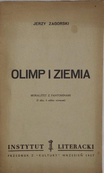 Jerzy Zagórski • Olimp i ziemia