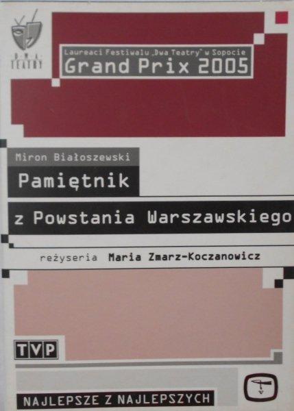 Maria Zmarz Koczanowicz • Pamiętnik z Powstania Warszawskiego • DVD