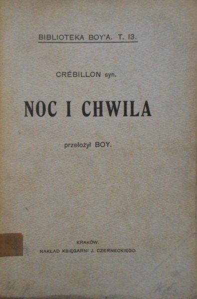 Crebillon • Noc i chwila. Igraszki kącika przy kominku