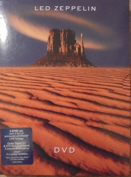 Led Zeppelin • Box set • 2xDVD