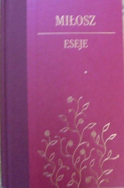 Czesław Miłosz • Eseje [zdobiona oprawa] [Nobel 1980]