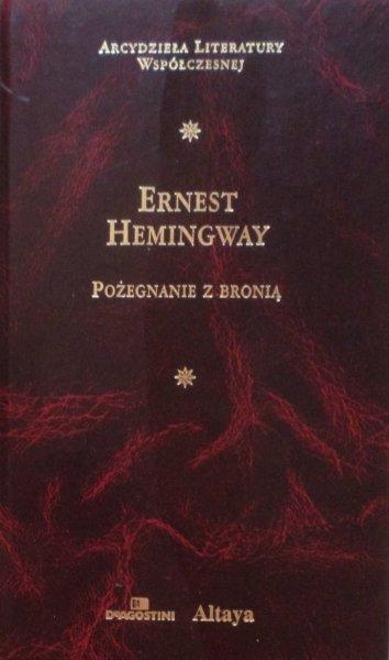 Ernest Hemingway • Pożegnanie z bronią [Nobel 1954] [zdobiona oprawa]