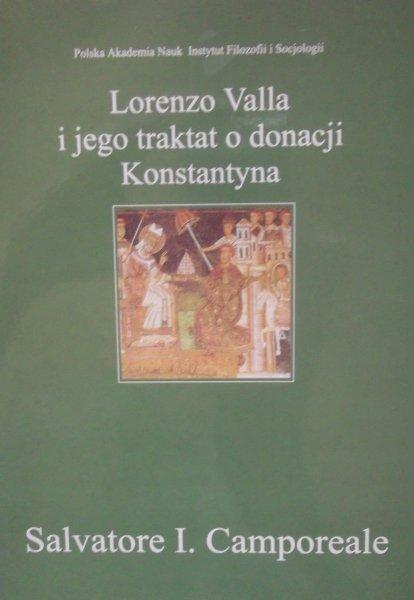 Salvatore I. Camporeale • Lorenzo Valla i jego traktat o donacji Konstantyna