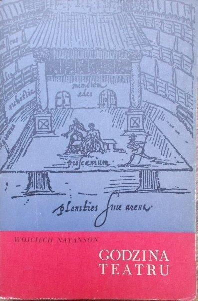 Wojciech Natanson • Godzina teatru [dedykacja autora]