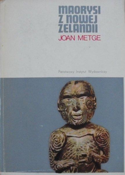 Joan Metge • Maorysi z Nowej Zelandii