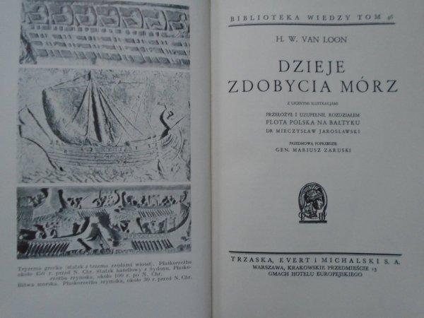 H.W. van Loon • Dzieje zdobycia mórz [Biblioteka Wiedzy 46]